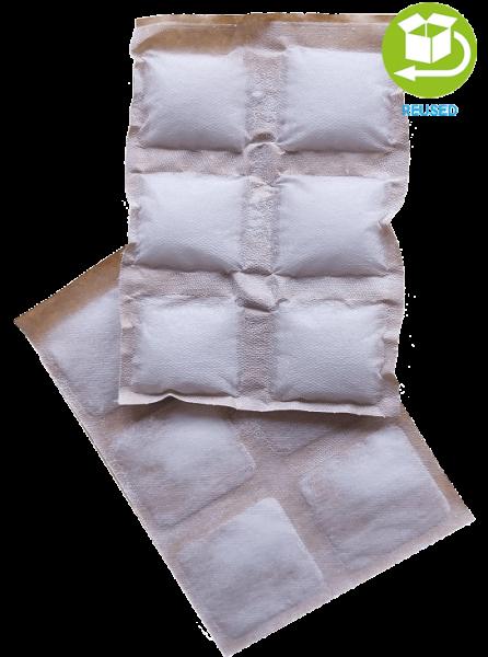 Kühlkissen aus Papier