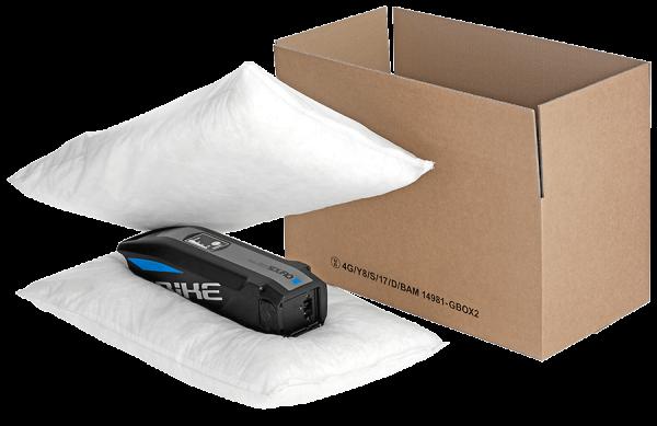 4G Gefahrgutverpackung für Lithiumbatterien zum sicheren Versand nach Verpackungsanweisung P908