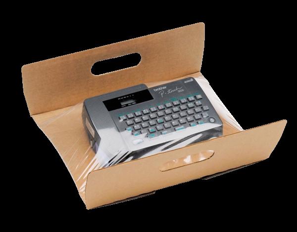 Fixierverpackung mit passender Packbox