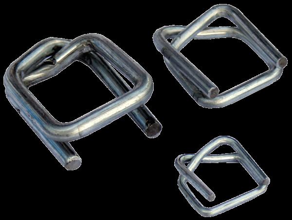 Metallklemmen für Polyester-/Textilband