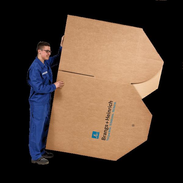 Palettencontainer mit Automatikboden