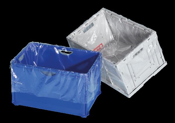 Seitenfaltenbeutel für KLT-Behälter
