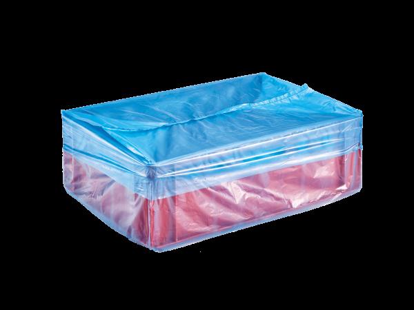 Seitenfaltenbeutel für E2-Kunststoffkisten