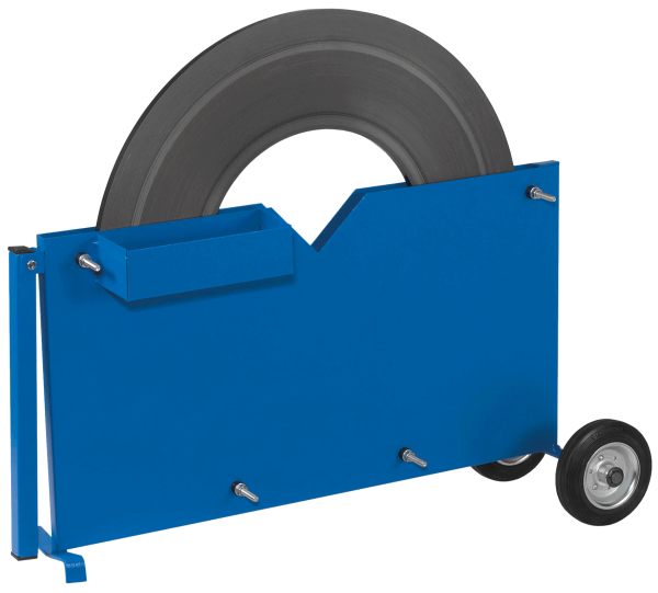 SW-Stahlbandabrollwagen