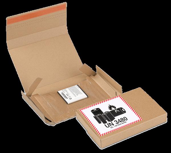 4G Gefahrgutverpackung für Lithiumbatterien mit Fixiereinlage