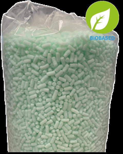 Bio-Verpackungschips grün