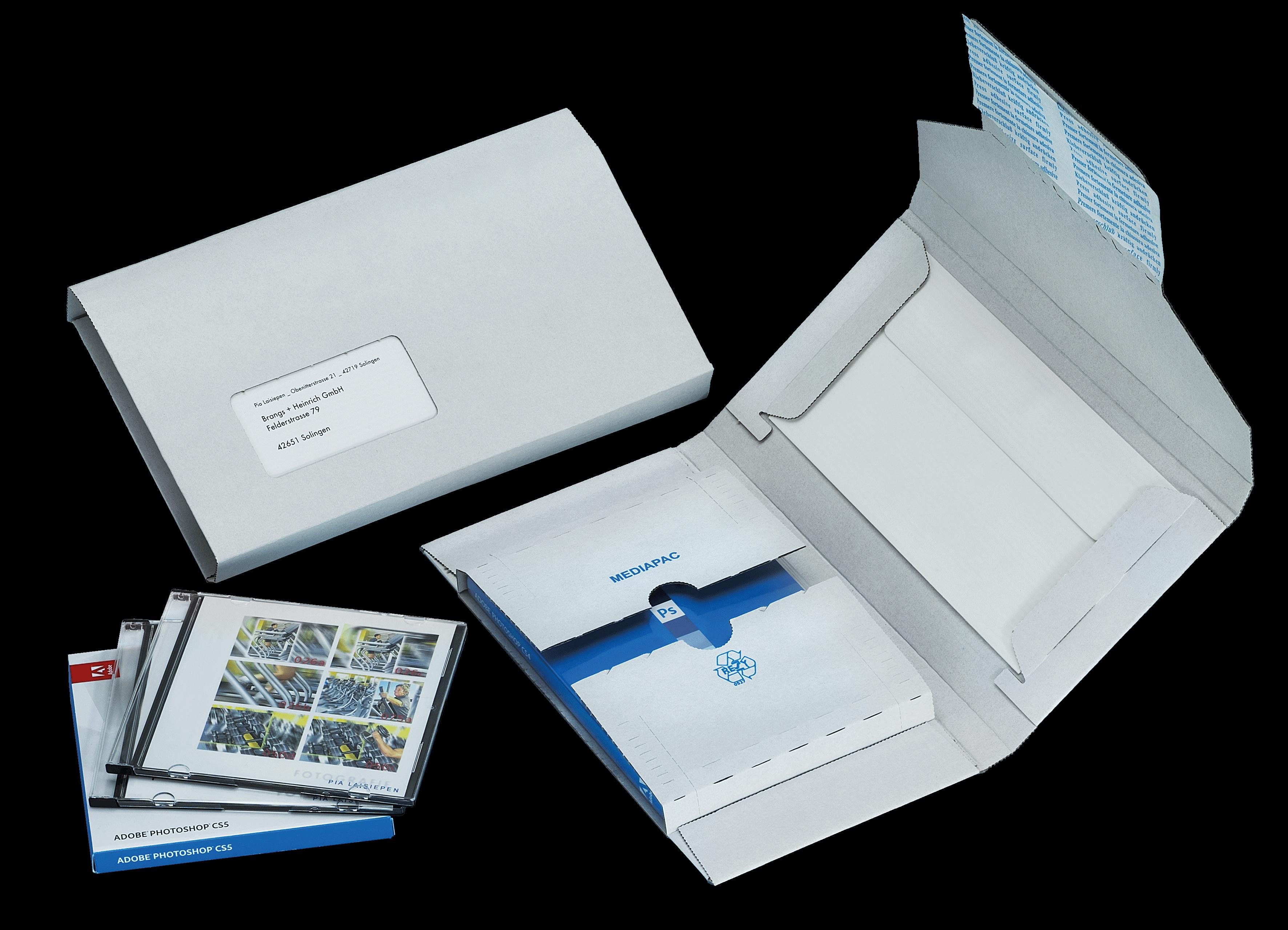 medien verpackung cd dvd karton g nstig kaufen. Black Bedroom Furniture Sets. Home Design Ideas
