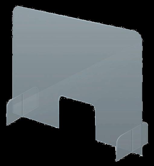 Schutzwand Acryl