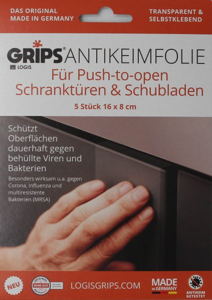 GRIPS® Antikeimfolie Push to open