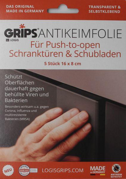 GRIPS® Antikeimfolie Push to open