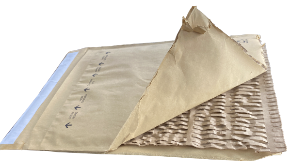 Papierpolstertasche
